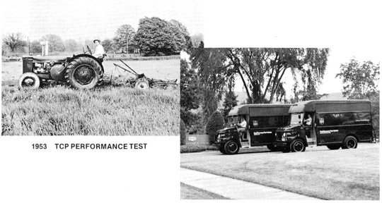 1953 & 1981: Performance Test