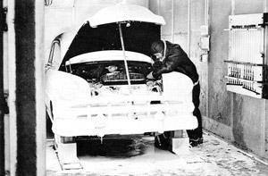 1954: Cold Room Engine Test