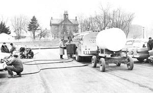 1957: Fuel Tank Fill Up