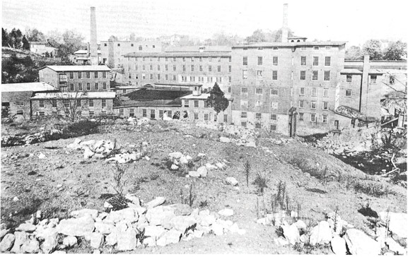 1861: The Original Mill Buildings