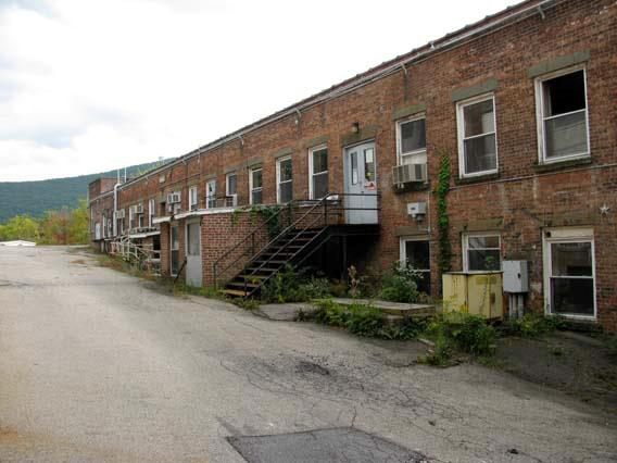 Building 6, looking east