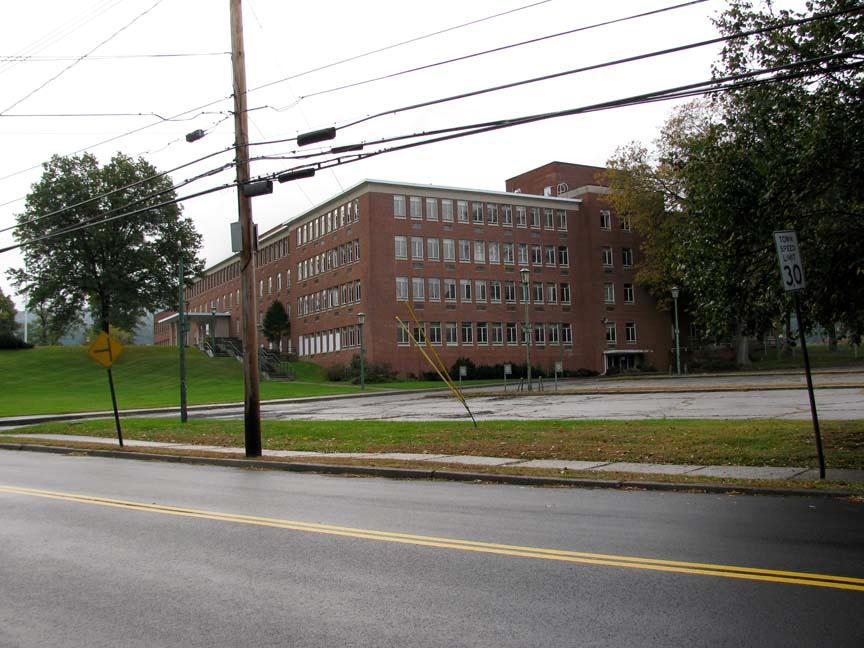 Buildings 50, looking southeast